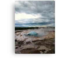 The breathing earth Canvas Print