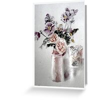 Thankyou Flowers Greeting Card