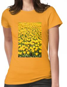 Plenty red and yellow Stresa tulips Womens Fitted T-Shirt