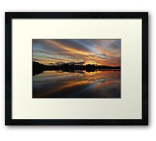 Tales of Sunset Framed Print