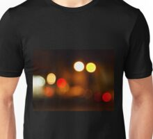 Abstract blurred image of round spots Unisex T-Shirt