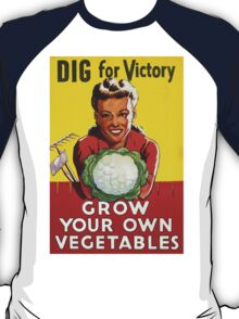 Dig for Victory - Grow your own vegetables T-Shirt