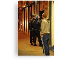London Riots Camden High Street  Canvas Print