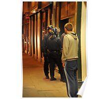 London Riots Camden High Street  Poster