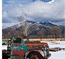 Taos Truck by doorfrontphotos