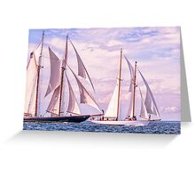 Full Canvas Greeting Card