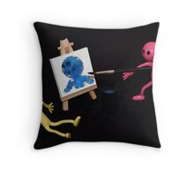 Gummi's Blue Period Throw Pillow