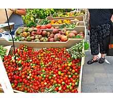 Fresh organic produce from Ontario Photographic Print