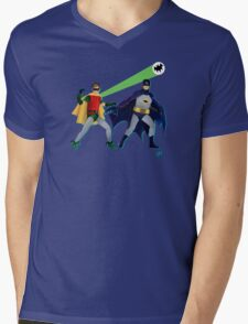 The Dynamic Duo Mens V-Neck T-Shirt