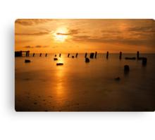 Sunrise on the Delaware Bay Canvas Print