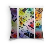 A Child's Thoughts Get Complicated Throw Pillow