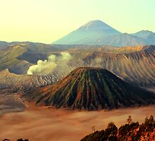 Mount Bromo by Dean Bailey