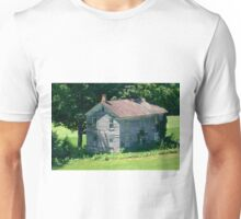July Afternoon At The Forgotten Farmhouse Unisex T-Shirt