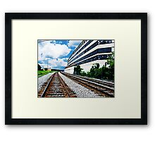 """A Building called """"History"""" Framed Print"""