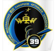 Expedition 39 Mission Patch Poster