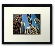 Reflected San Francisco Architecture Framed Print