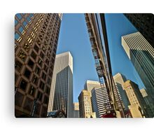 Reflected San Francisco Architecture Canvas Print