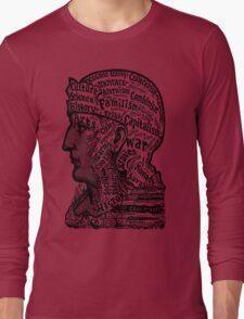 Sivartha Historia Mind Map 1860 Long Sleeve T-Shirt