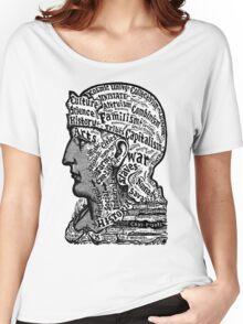 Sivartha Historia Mind Map 1860 Women's Relaxed Fit T-Shirt