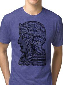 Sivartha Historia Mind Map 1860 Tri-blend T-Shirt