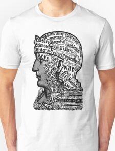 Sivartha Historia Mind Map 1860 Unisex T-Shirt