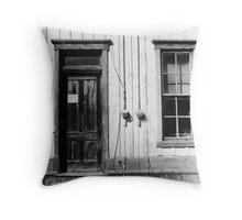 Manchester RR Depot Throw Pillow