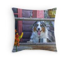 Cezanne on Vacation Throw Pillow