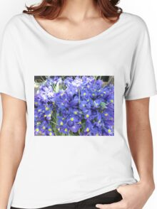Purple Daffs Women's Relaxed Fit T-Shirt