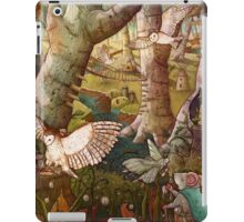 Of Mice and Owls Mouse Guard Fan Art iPad Case/Skin