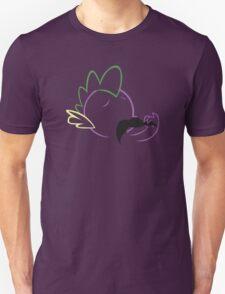 Spike Moustache Outline Unisex T-Shirt