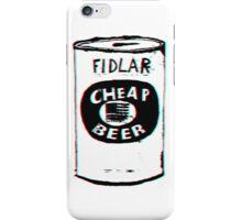 FIDLAR - Cheap Beer iPhone Case/Skin