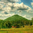 Currahee Mountain by Chelei
