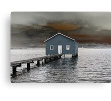 Crawley Boatshed Canvas Print