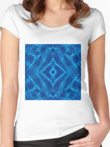 Diamond Back Pool Women's Fitted Scoop T-Shirt