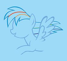 RainbowDash Outline by LcPsycho