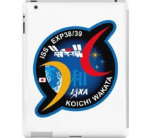 Wakata Personal ISS-39 Patch iPad Case/Skin