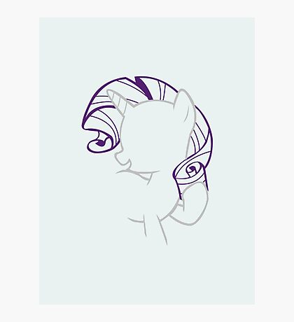 Rarity Outline. Photographic Print