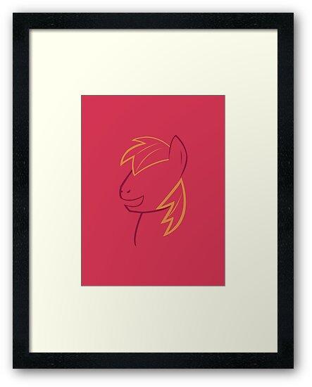 Big Macintosh Outline by LcPsycho