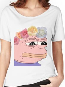Pastel Pepe [VERY RARE] Women's Relaxed Fit T-Shirt