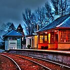 Glenfinnan Station - A spring evening by JamesHail