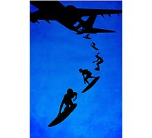Sky surfers Photographic Print