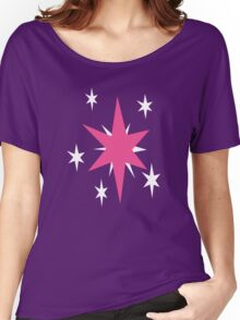 TwilightSparkle Cutie Mark Women's Relaxed Fit T-Shirt