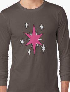 TwilightSparkle Cutie Mark (Outline) Long Sleeve T-Shirt