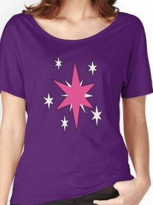 TwilightSparkle Cutie Mark (Outline) Women's Relaxed Fit T-Shirt