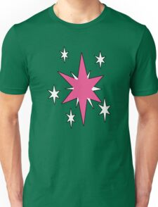 TwilightSparkle Cutie Mark (Outline) Unisex T-Shirt