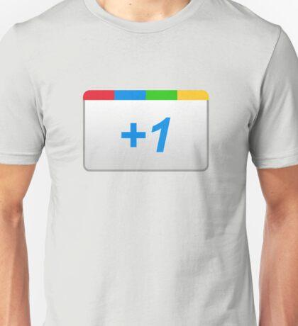 Google +1 Unisex T-Shirt
