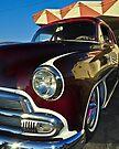 Raspberry Fender Reflection... by Bob Moore