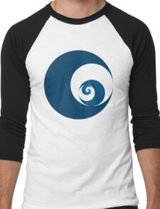 Golden Ratio Cutout Circles Men's Baseball ¾ T-Shirt