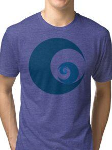 Golden Ratio Cutout Circles Tri-blend T-Shirt