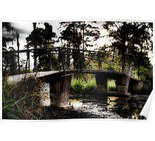 Swamp Bridge Poster